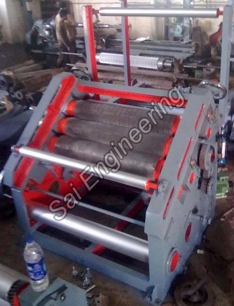 High Speed Single Face Paper Corrugation Machine