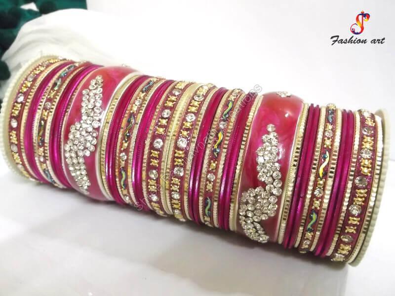 Party Wear Bangle Set