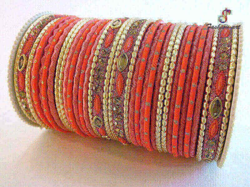 Thread Bangle Set