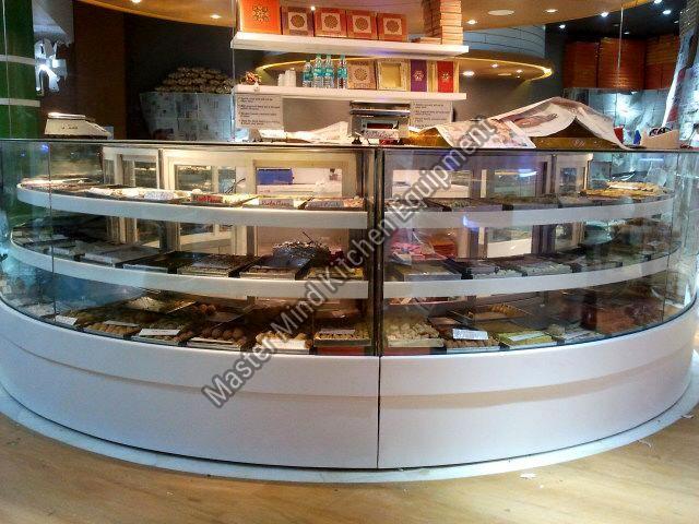 Sweet Shop Display Counter
