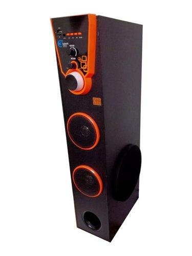 Single Dj Tower heavy Bass with Bluetooth ,FM (Dj Tower-15)