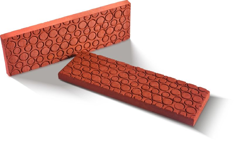 RECE-715 Extruded Wirecut  Bubble Embossed Cladding Brick