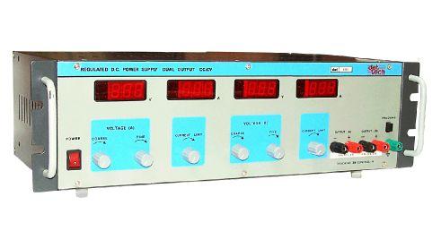 CV/CC Rack Mount Dual Output DC Regulated Power Supply