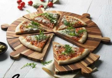 Round Pizza Shaped Serving Platter