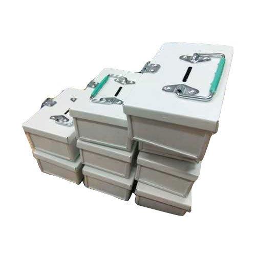 White Metal Cash Box