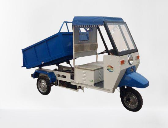 Electric Garbage E Rickshaw