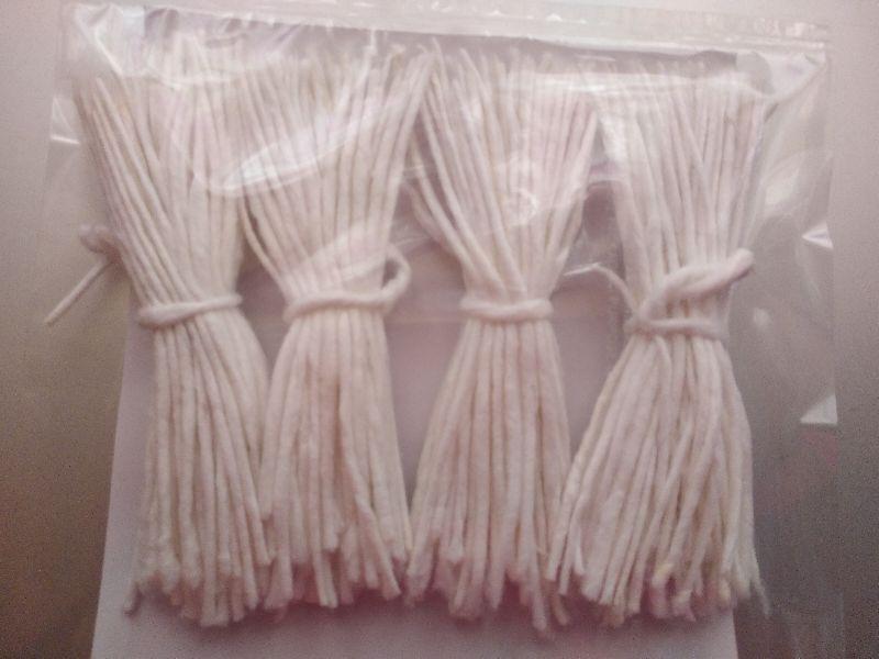 200 Pieces Long White Cotton Wicks