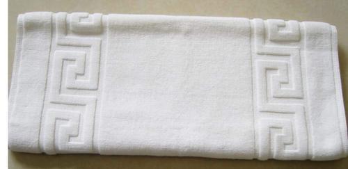 White Cotton Bath Mat