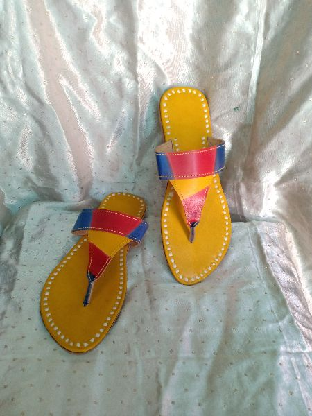 MOJEES : LILY - Hand-made Multi-Color Chappal (LILY)