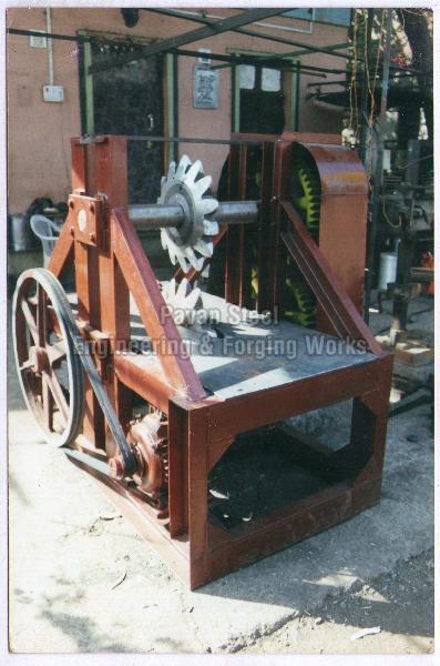 Wood Shearing Machine