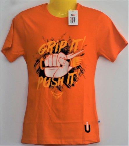 Mens Printed Round Neck T-Shirts