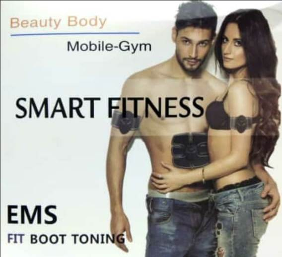 EMS Fit Boot Toning Gel Pads