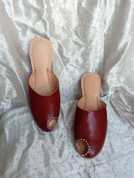 Poppy  Brown Slip On