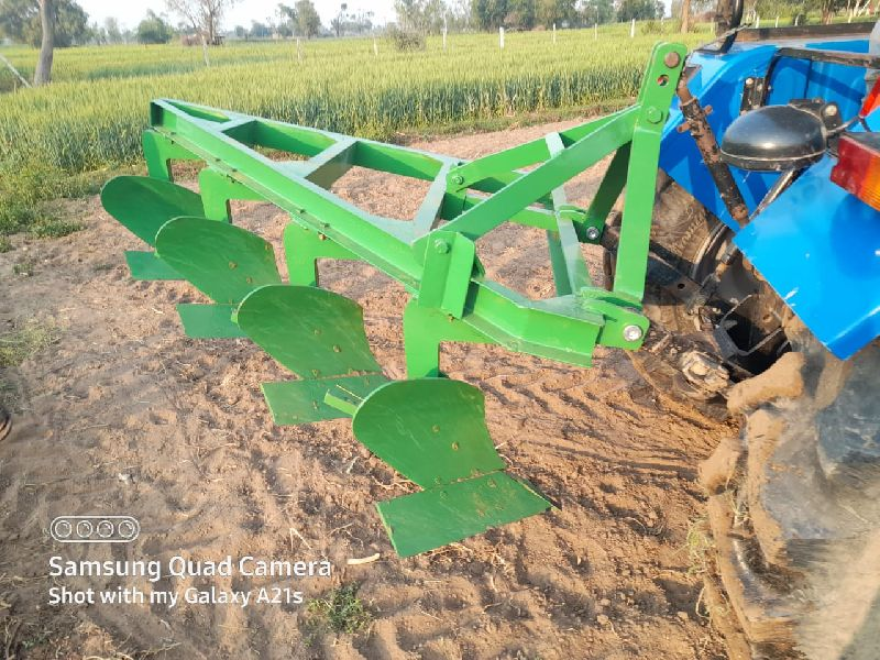 Four bottom plough