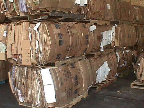 OCC Brown Waste Paper Scrap