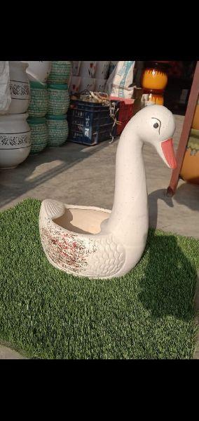 Duck Shaped Flower Pot