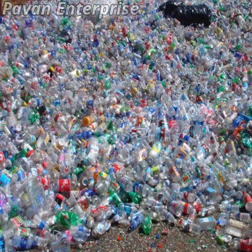 Colored Plastic Bottle Scrap