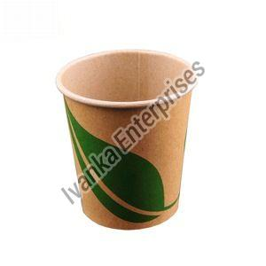 Brown Disposable Paper Cup