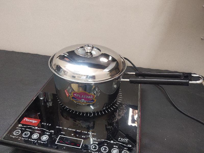 Laser Steel Pooja Thali