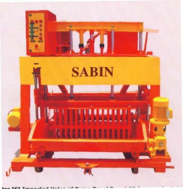 BLOCK MAKING MACHINE (SHM 117 M 1060)