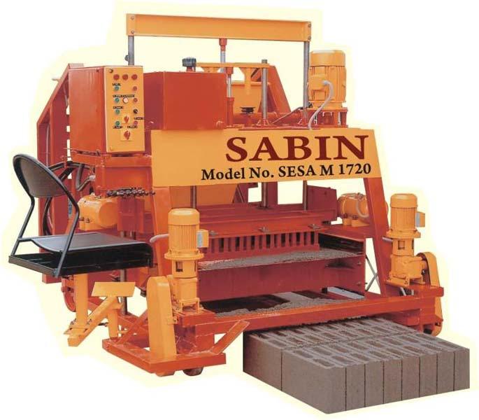 High Capacity Hydraulic Type Egg Laying Block Making Machine (SESA M 1720)