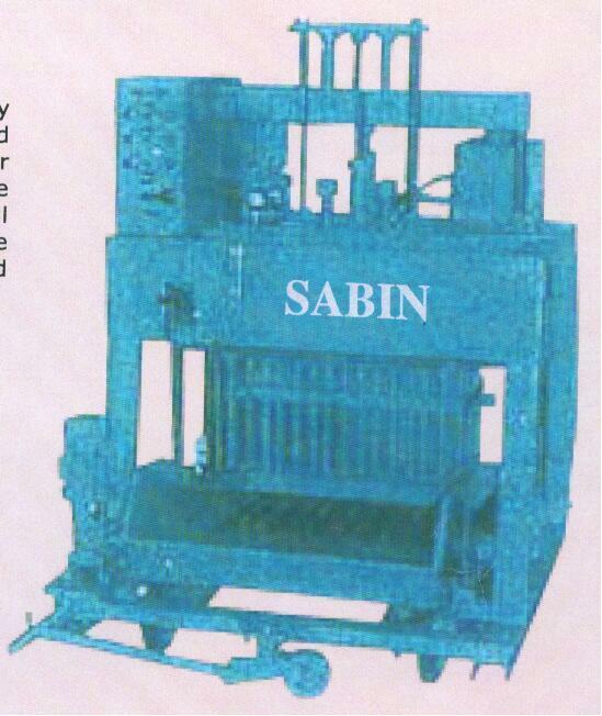 High Capacity Hydraulic Type Egg Laying Block Making Machine - Model No. Shm 105 M 860 (SHM 105 M 860)
