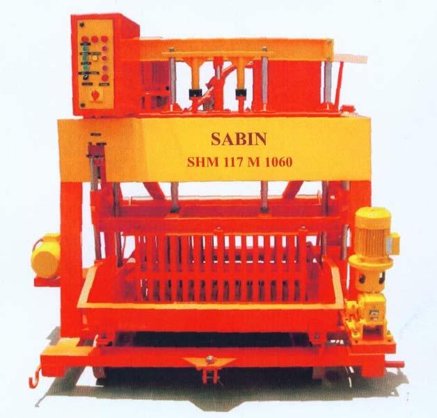 Hydraulic Egg Laying Block Machine - SHM 105 M 860 SPECIAL TYPE (SHM 106 M 430)
