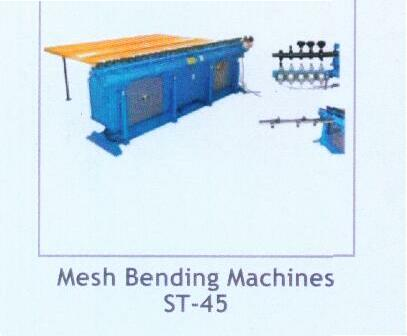 Mesh Bending Machine - Model No. St-45 (Construction Equipme)