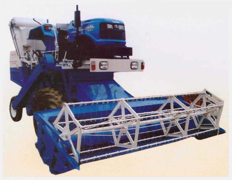Tractor Mounted Combine Harvester (13)