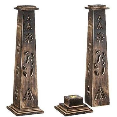 Wooden Incense Stick Towers