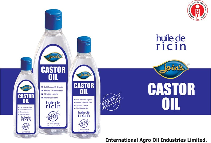 Buy Castor Oil from International Agro Oil Industries Limited, India