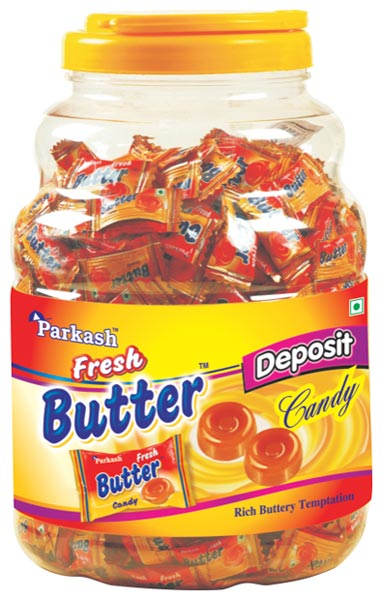 Fresh Butter Candy Jar (Fresh Butter Candy J)