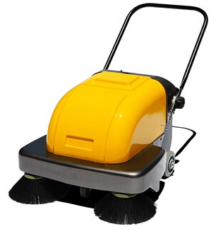 Electric Industrial Hand Push Floor Sweeper Manufacturer In