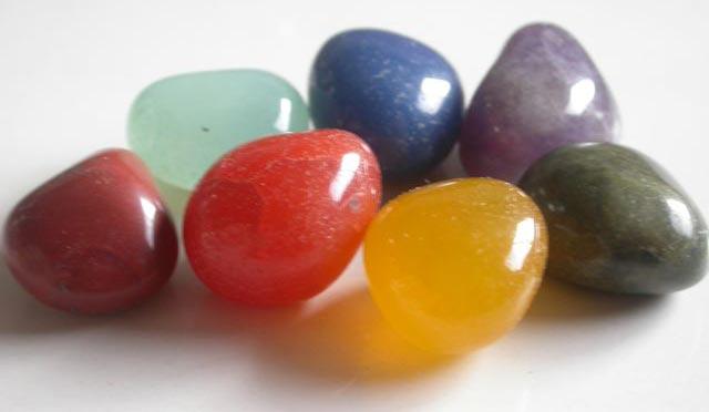 Chakra Tumbled Stones