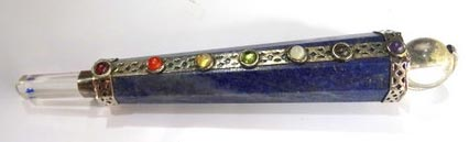 Cone Shaped Lapis Lazuli Chakra Healing Stick