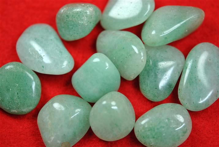 Light Green Aventurine Tumbled Stone