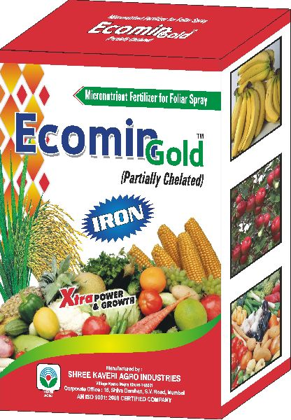 Partially Chelated Iron Fertilizer Manufacturer & Exporters from