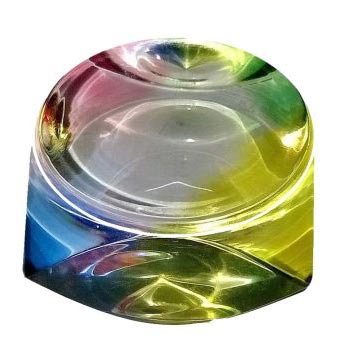 Multicolor Acrylic Paperweight (SPW3109)