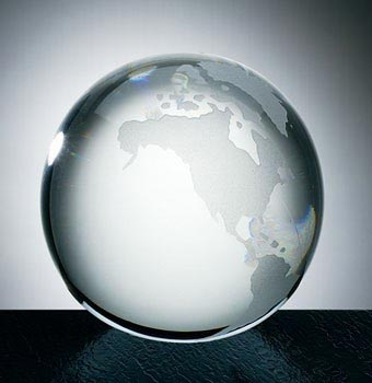 Transparent Acrylic Paperweight (SPW3108)