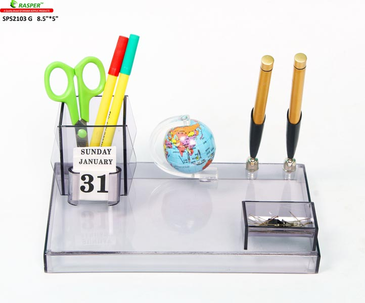 Acrylic Pen Stand (SPS2103_G) (SPS2103 G)