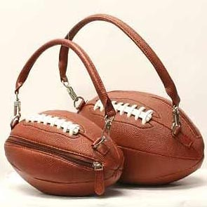 Ladies Plain Football Handbags