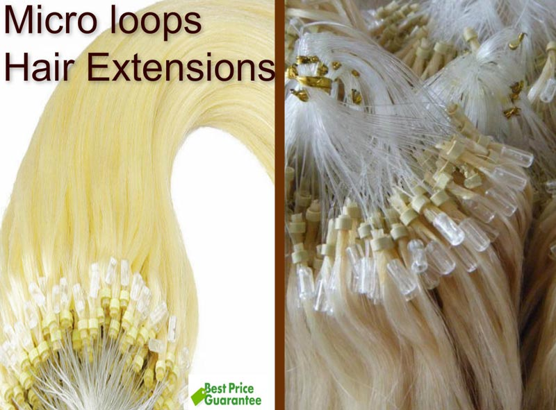 Micro Loop Hair Extensions Manufacturer Manufacturer From Delhi