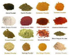 Buy Indian Spices from V V Export & Imports, Bangalore