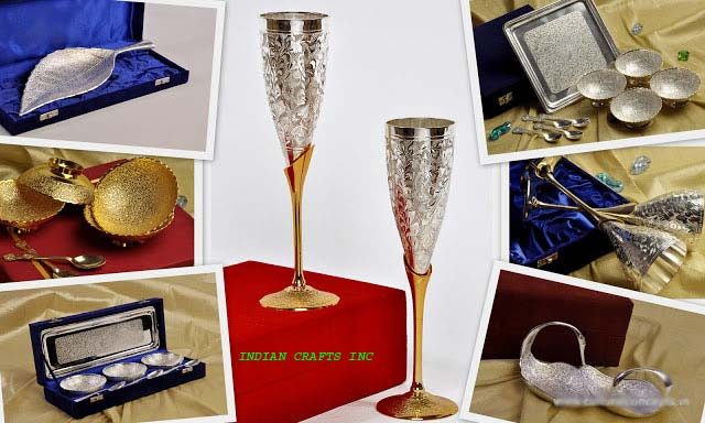 Silver Plated Gift Items Manufacturer & Exporters from