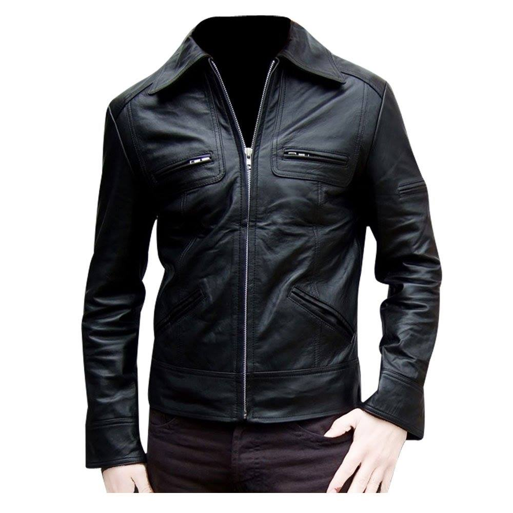 Leather jacket cape town - Mens Leather Jackets Elsa 03
