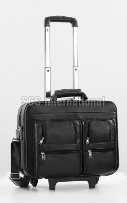 Leather Trolley Bags 11
