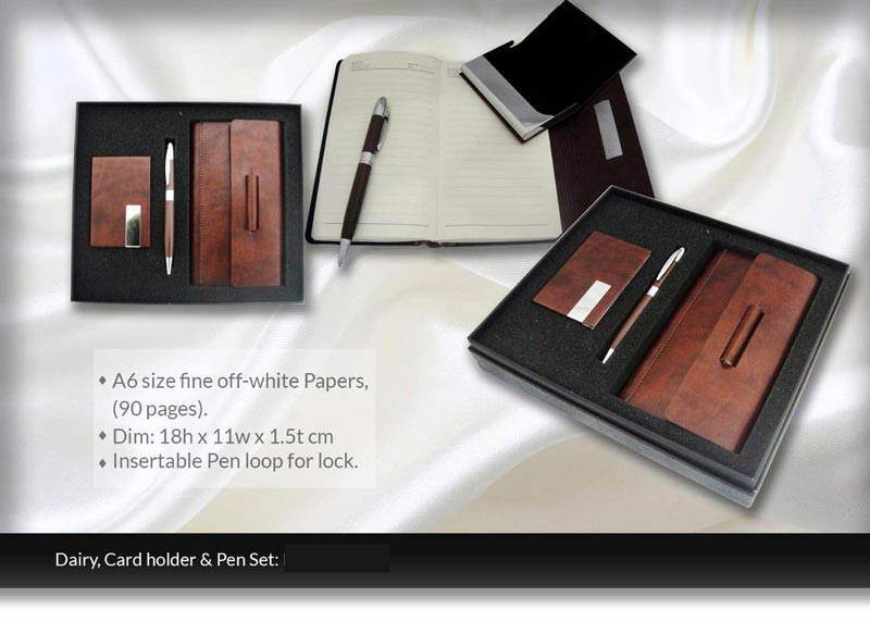 Leather Corporate gifts (pg25)