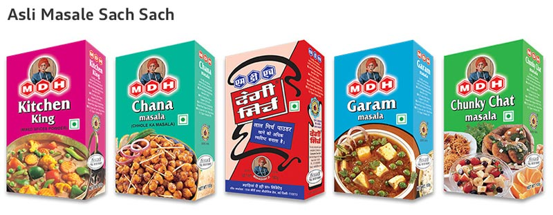 MDH Spices Manufacturer in Gurgaon Haryana India by The