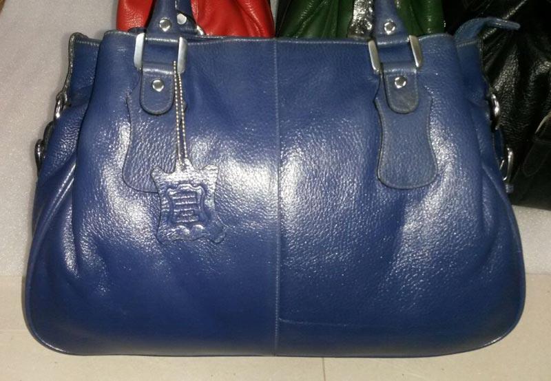 Snake Printed Leather Hand Bag (SK005)