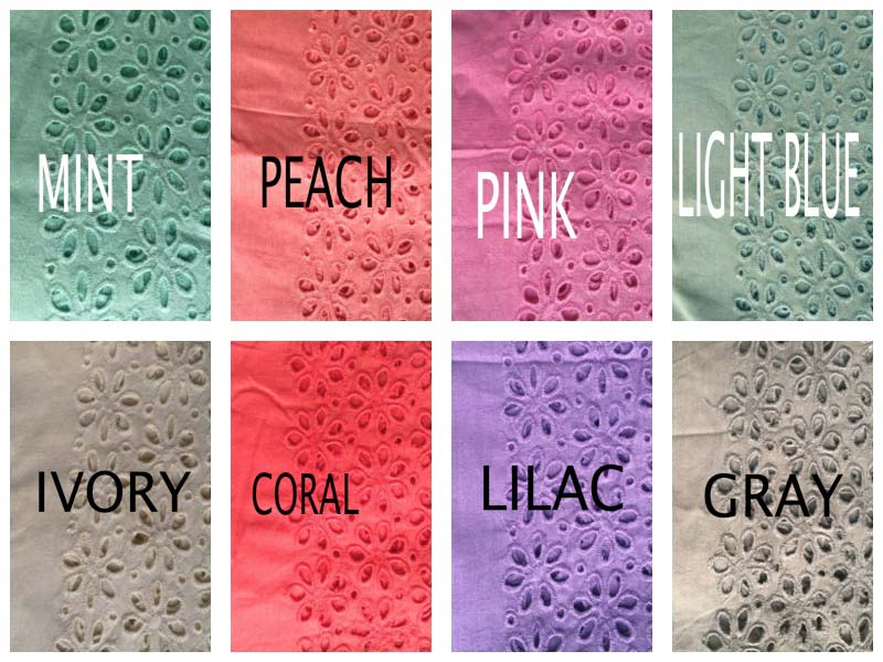 f930759a918 We are one of the leading Manufacturers and Suppliers of a wide range of of  Eyelet Fabric in Gurgaon